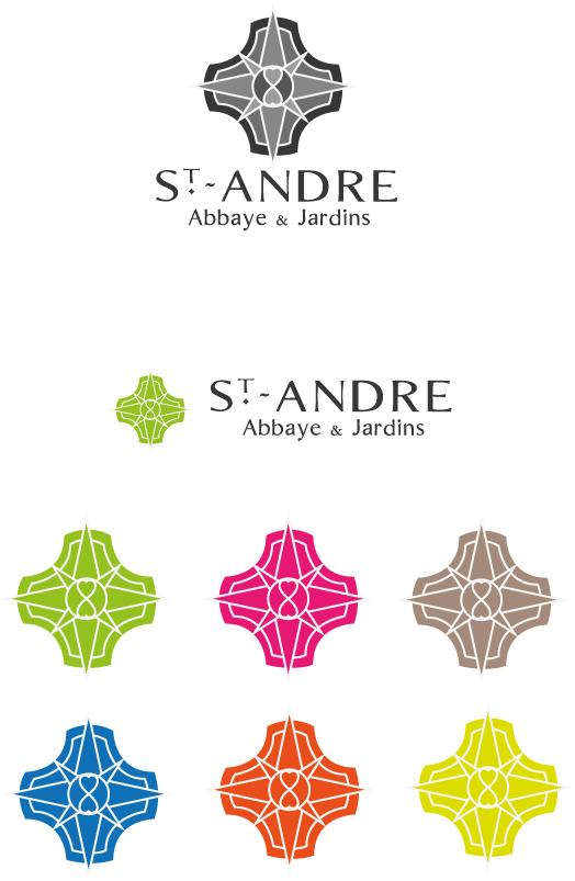 Abbaye de St André – Logo